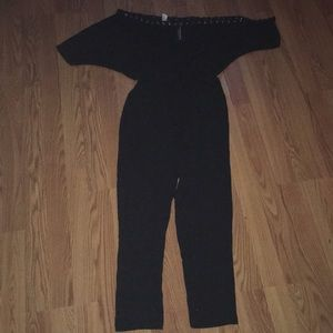 ca239904a111 Fashion Nova Pants - Fashion nova plus size off shoulder jumpsuit sz 1x